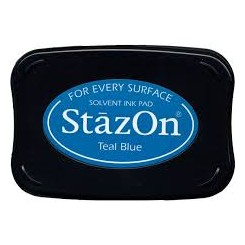 Staz On Teal Blue