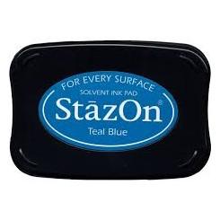 Staz On Teal Blue