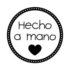 Sello Hecho a mano-Artemio