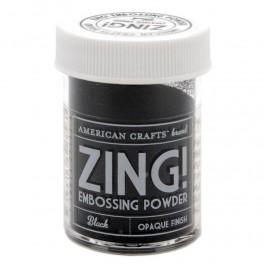 Negro Opaco - Polvos Zing! de American Crafts