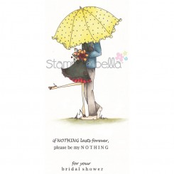 Emily & Ryan Under The Umbrella