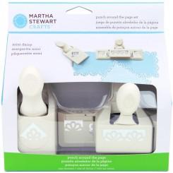 Troqueladora Mini Daisy Set Borde + Esquina - Martha Stewart