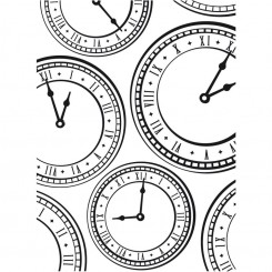 Clock Background - Darice