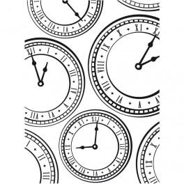 Clock Background - Darice