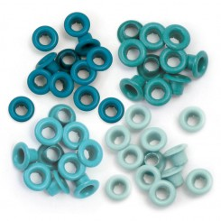 Eyelets Aqua - We R Memory Keepers