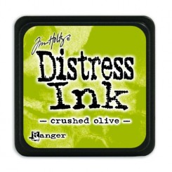 Mini Distress Crushed Olive