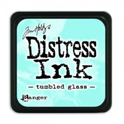 Mini Distress Tumbled Glass