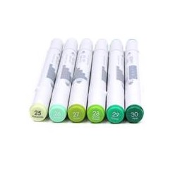 First Edition - Markers - Greens