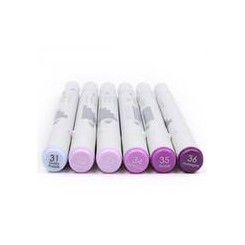 First Edition - Markers - Purples