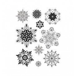 Sello Copos de nieve-Artemio