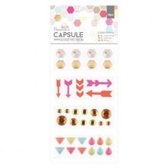 Capsule Geometric Neon-Papermania