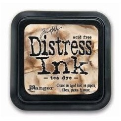 Distress Ink Tea Dye