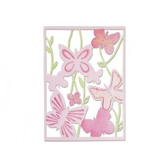 Thinlists Spring garden. Animales-Sizzix