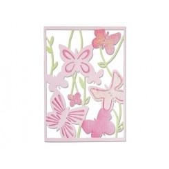 Thinlists Spring garden. Animales-Sizzix