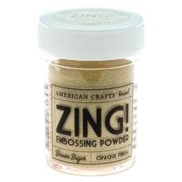 Azúcar Moreno Opaco - Polvos Zing! de American Crafts