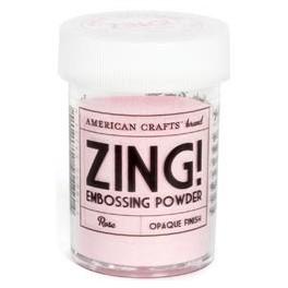 Rosa - Polvos Zing! opacos de American Crafts