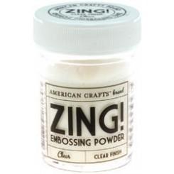 Transparente - Polvos Zing! opacos de American Crafts