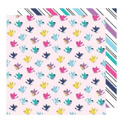 Papel Estampado Tweet Sweet 12x12- Glitter Girl