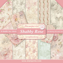 Shabby Rose 30x30 Stamperia