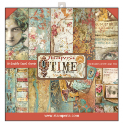 Time is an Illusion 30x30 Stamperia