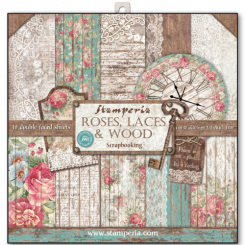 Roses & Laces 30x30 Stamperia