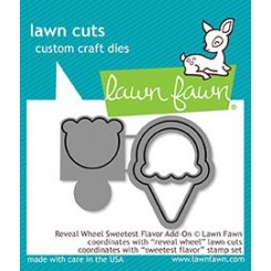 Troquel Reveal Wheel Sweetest Flavor - Lawn Fawn