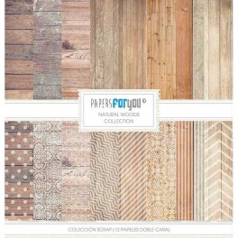 Colección Natural Woods - Papers for You