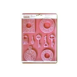 Moldes de relojes y llaves - Stamperia