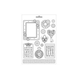 Molde Steampunk Gears - Stamperia
