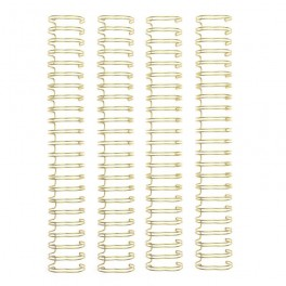 "Espirales Doradas 2,54cm - 1"""