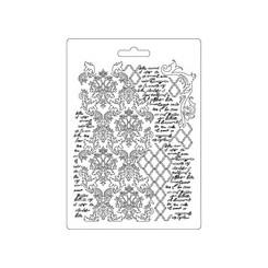 Textura con escritura - Stamperia