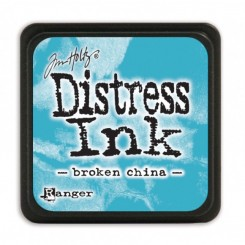 Distress mini ink broken china