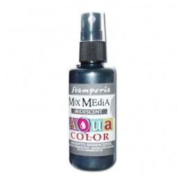 Aquacolor  Iridescent Silver  Stamperia