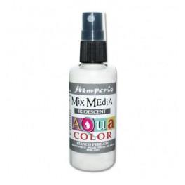 Aquacolor Pearl White Stamperia