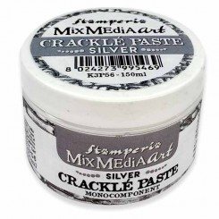 Crackle Paste Silver - Stamperia