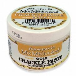 Crackle Paste Gold - Stamperia