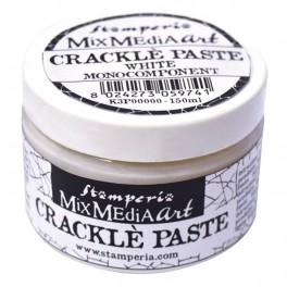Crackle Paste White - Stamperia