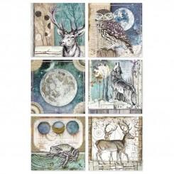 Papel Arroz A4 Cosmos Cards