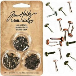 Brads largos - Idea-ology Tim Holtz