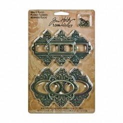 Ornate Plates - Idea-ology Tim Holtz