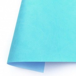 Ecopiel mate - Azul Caribe - Kora