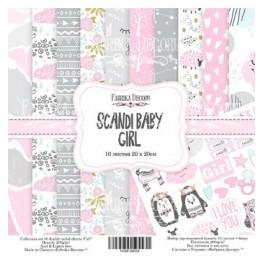 Scandi BabyGirl 8x 8 - Fabrika Decoru