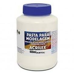 Pasta Modelagen Acrilex 500ml.