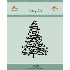 Troquel Árbol de navidad - Dixi Craft