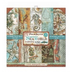 Colección Sea World 12x12 - Stamperia