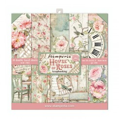 House of Roses 8x8 - Stamperia