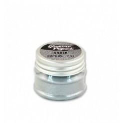 Glamour Pigment Silver - Stamperia