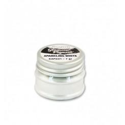 Glamour Pigment Sparkling White - Stamperia