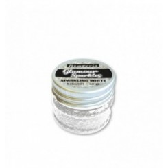 Glamour Sparkles Sparkling White - Stamperia