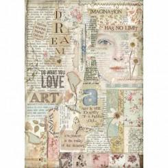 Love Art A4 - Stamperia